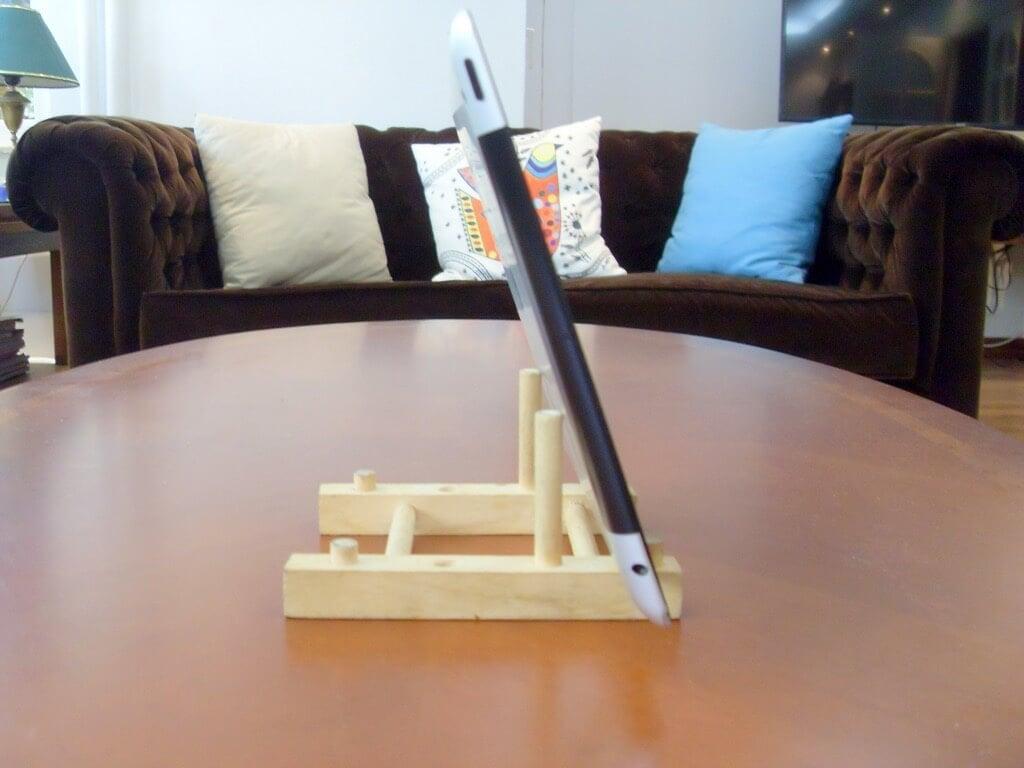 Ikea Ostbit Ipad Stand Wood 5