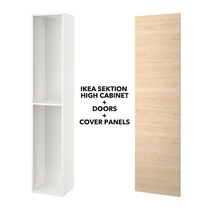 Ikea Sektion High Cabinet