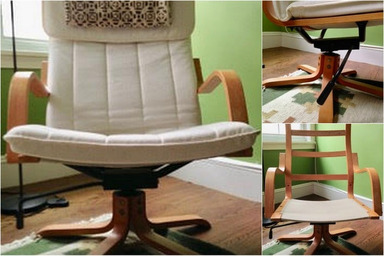Hackers Help: Want To Sell Rare Swivel Rocker POÄNG Chair