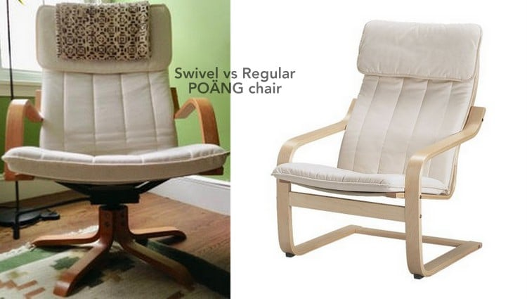 Awesome Want To Sell Rare Swivel Rocker Poang Chair Bralicious Painted Fabric Chair Ideas Braliciousco