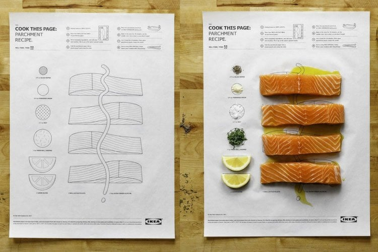 Cook This Page Is Ikea S Brilliant Cooking Hack Ikea
