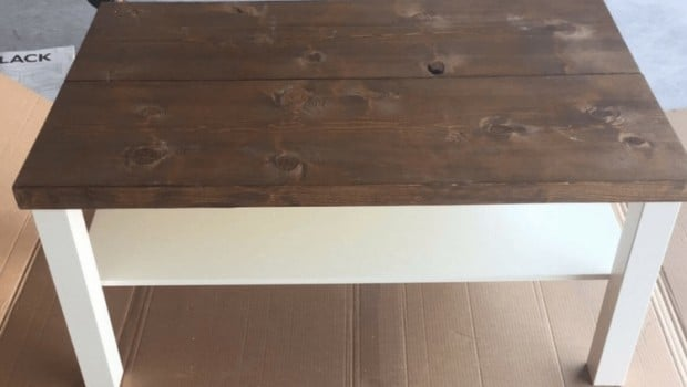 farmhouse-coffee-table-diy-ikea-lack-hack