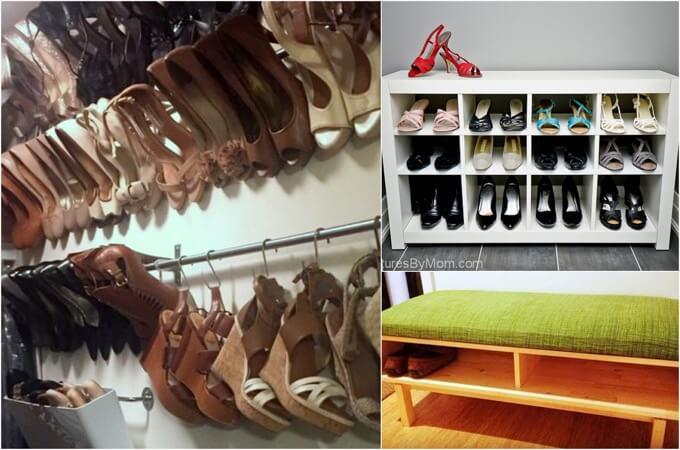 9 Ingenious Ikea Hacks To Maximise Shoe Storage Ikea