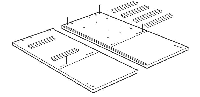 Mid-Century Modern Furniture Shelving DIY - Step 1