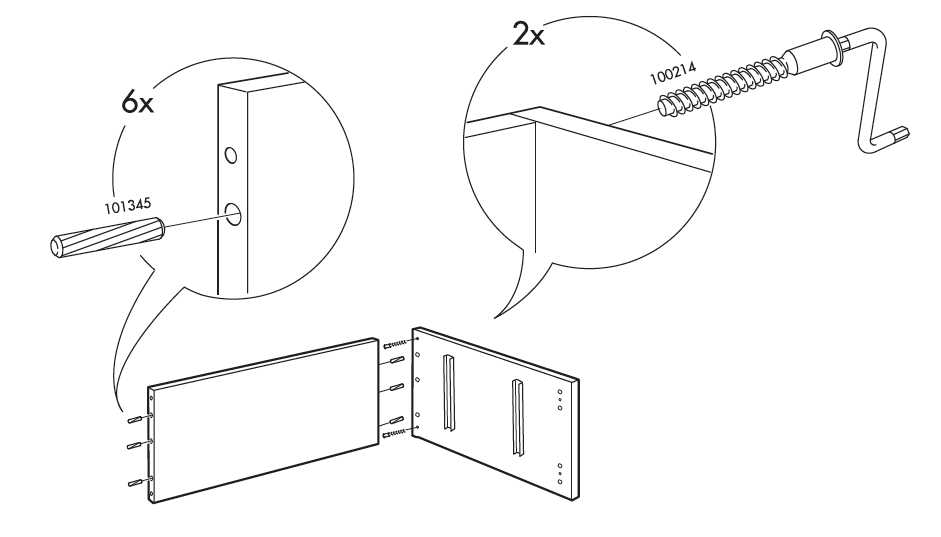 Mid-Century Modern Furniture Shelving DIY - Step 2