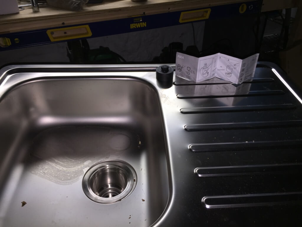 Outdoor sink IKEA hack