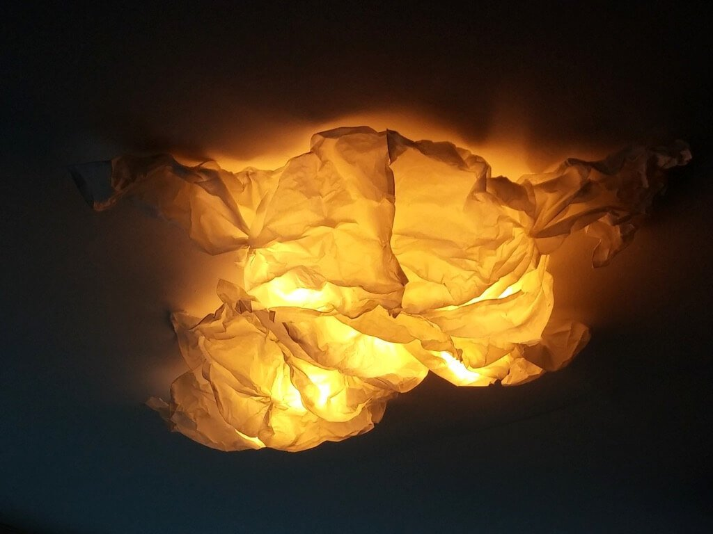 Light up with a whimsy Cloud Ceiling Light