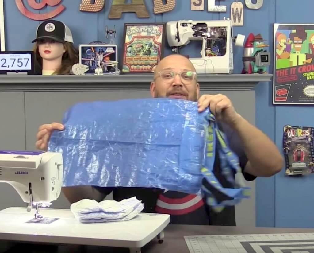 IKEA FRAKTA Cheap Diaper Bag Changing Mat DIY