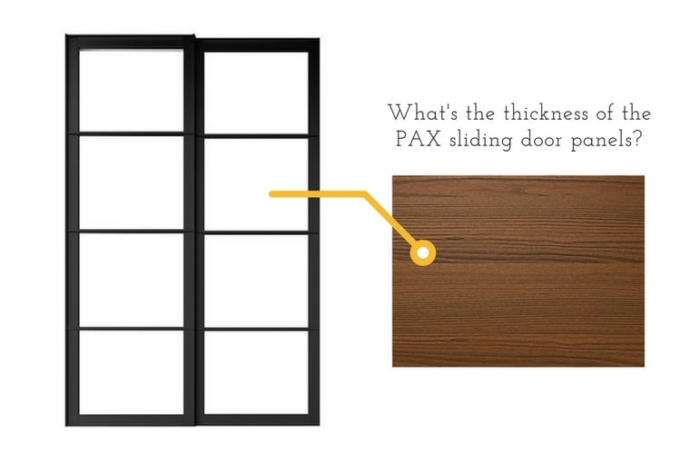 Hackers Help Thickness of the sliding door panels?  sc 1 st  IKEA Hackers & Hackers Help: Thickness of the sliding door panels? - IKEA Hackers