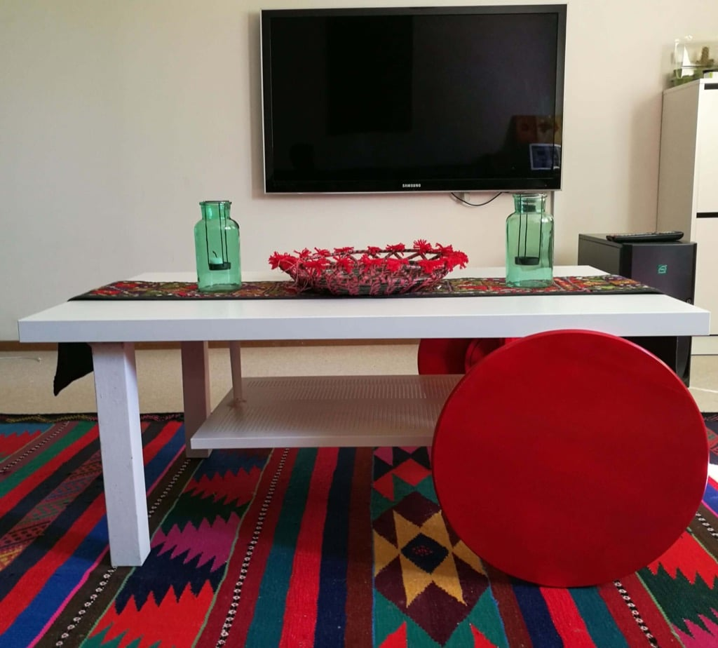Trolley Table Make A Coffee Table On Wheels