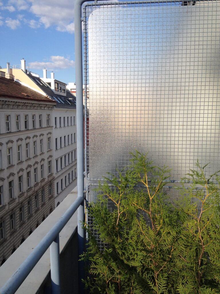 balcony privacy screen IKEA hack