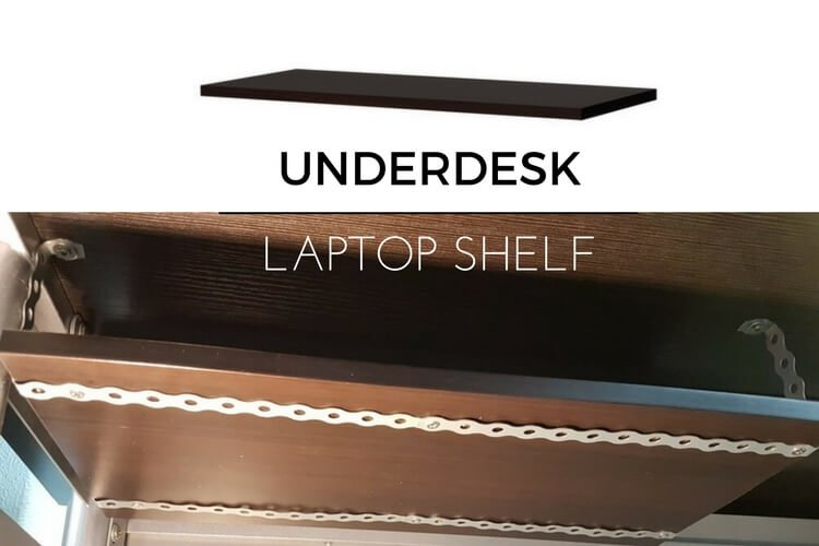 15 Underdesk Laptop Shelf Mount Ikea Hackers Ikea Hackers