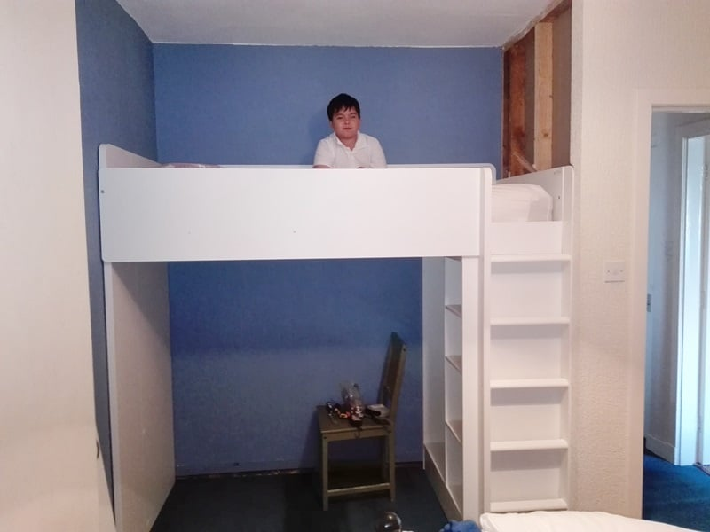 before-wardobe-partition-fitted