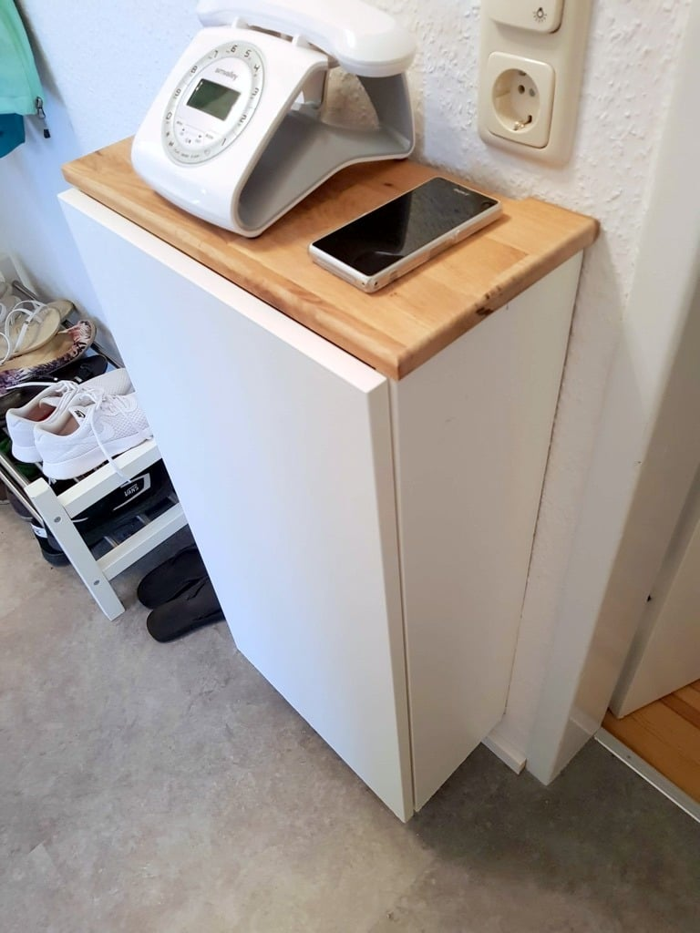 Phone and IT sideboard