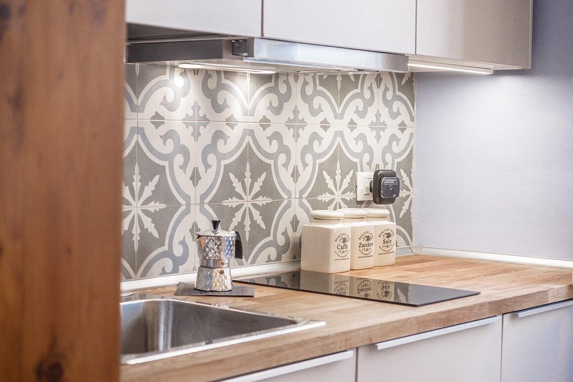 kitchen for a small studio