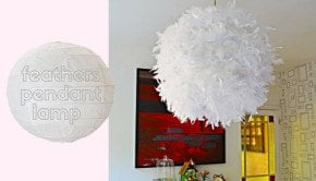 feather-paper-lampshade-ikeahack