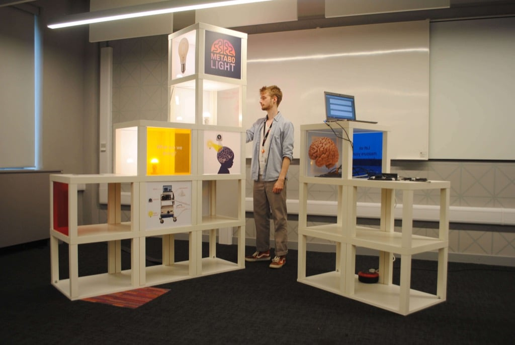 15 LACK tables hacked as Metabolight interactive display unit