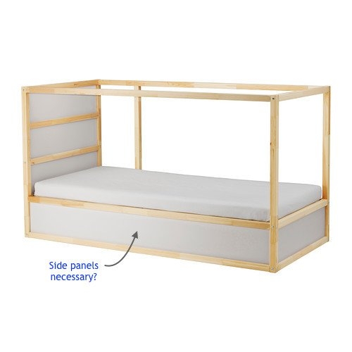 Lovely KURA bed storage