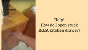 stuck-ikea-kitchen-drawer