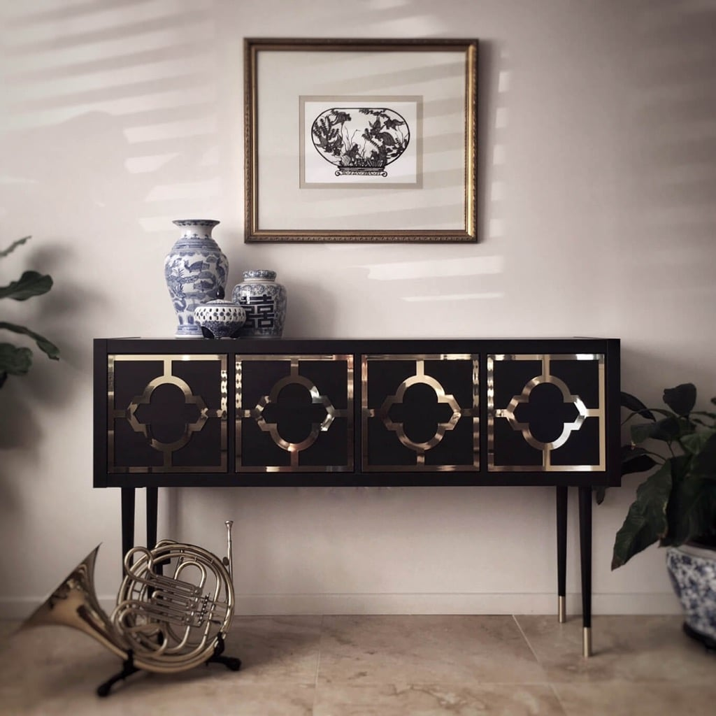 Kallax Grows Up To Be A Glamorous Credenza Ikea Hackers Bloglovin