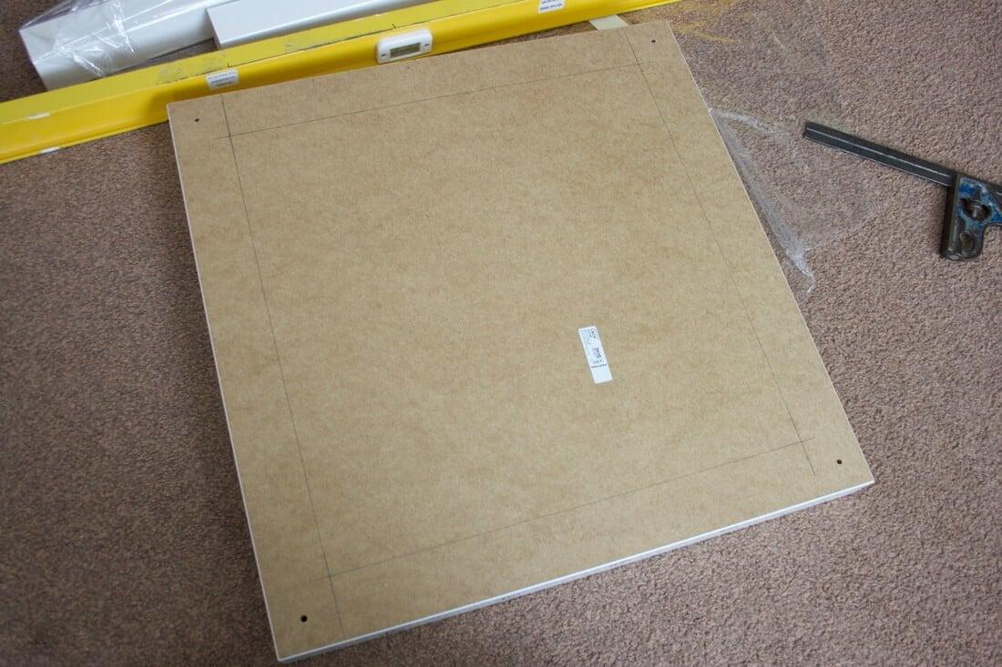 Ikea lack raspberry pi case storage table ikea hackers for Table basse ikea lack