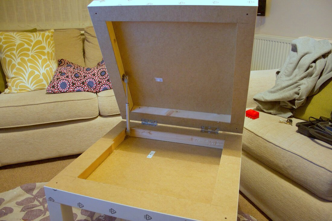 Cool IKEA LACK Raspberry Pi Case DIY Storage Table