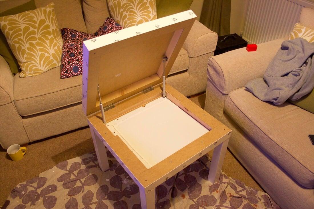 IKEA LACK Raspberry Pi Case / DIY Storage Table
