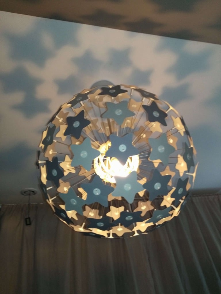 from dandelion to starros the star lamp ikea hackers ikea hackers. Black Bedroom Furniture Sets. Home Design Ideas