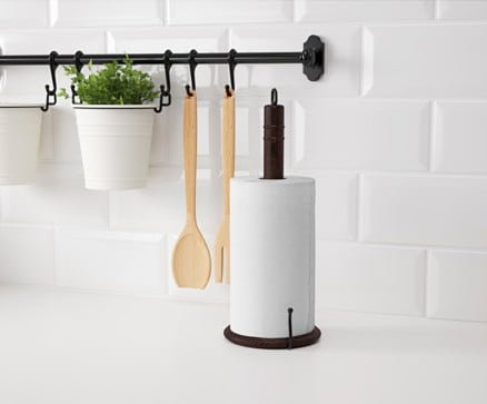 Ideas for kitchen paper towel holder ikea hackers ikea for Ikea towel stand