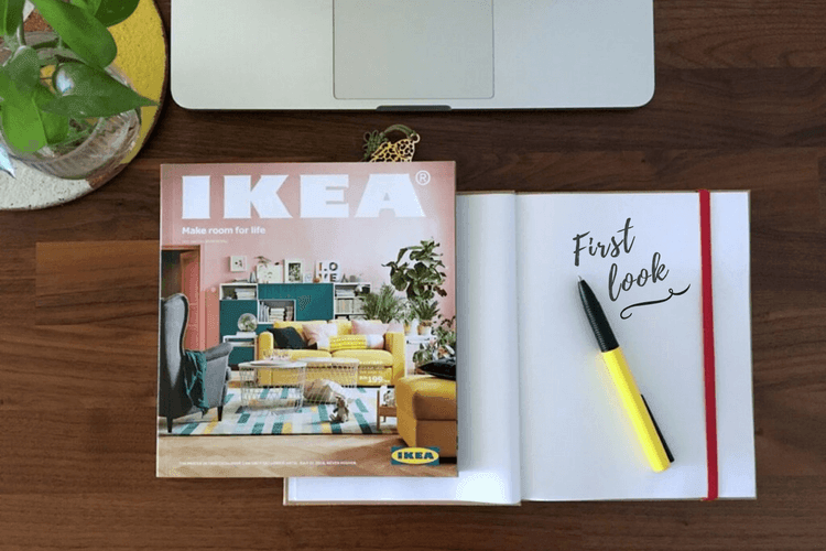 IKEA catalog 2018 A nod to hacking