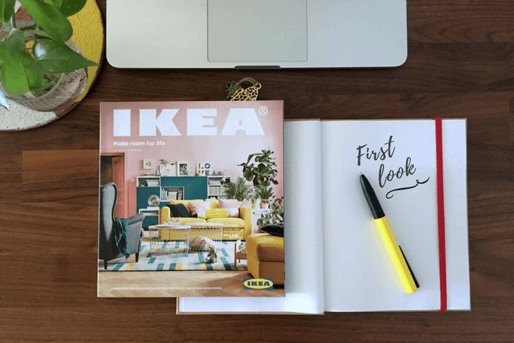 IKEA catalog 2018 A nod to hacking