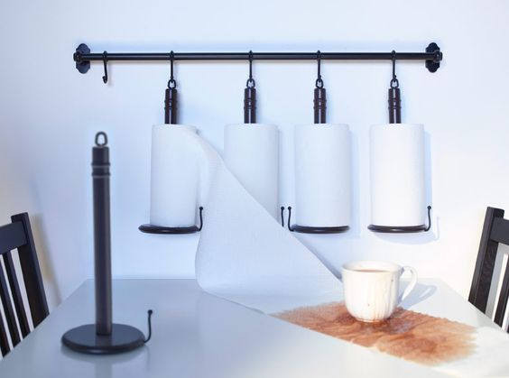 Great ikea fintorp paper towel holder