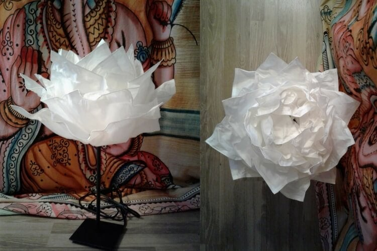 Krusning Cloud To A Whimsy Paper Flower Decor Ikea Hackers