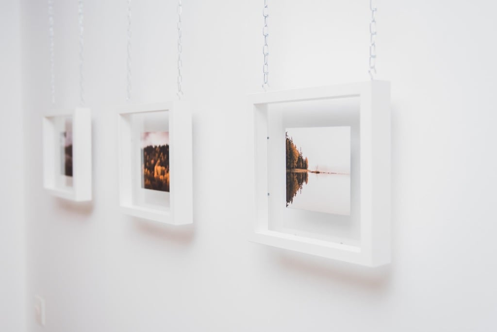 Ribba Gallery-Style Floating Picture Frame