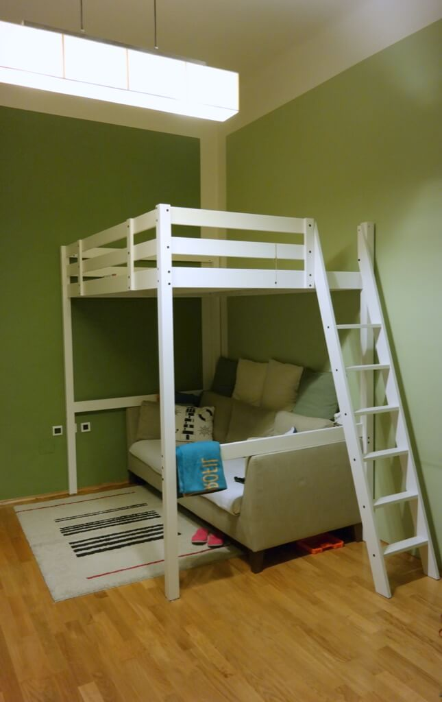 Nice IKEA HACK loft office STOR loft bed with desk