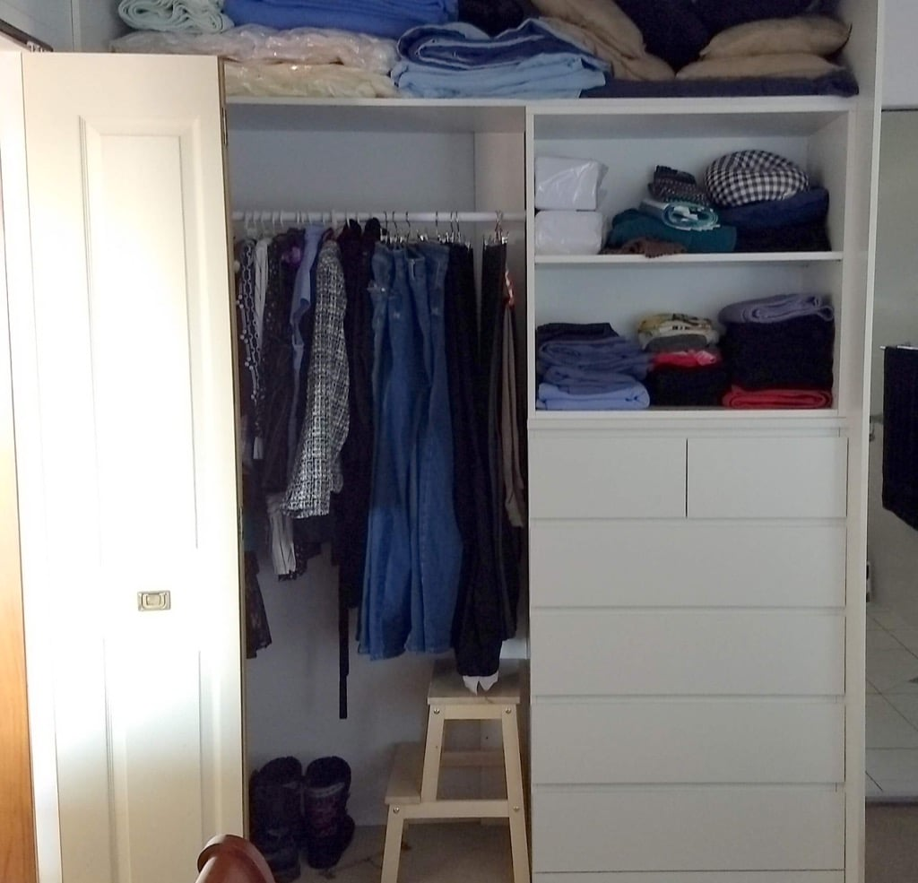 Add drawers for closets aka ikea hack your built in for Armoire malm