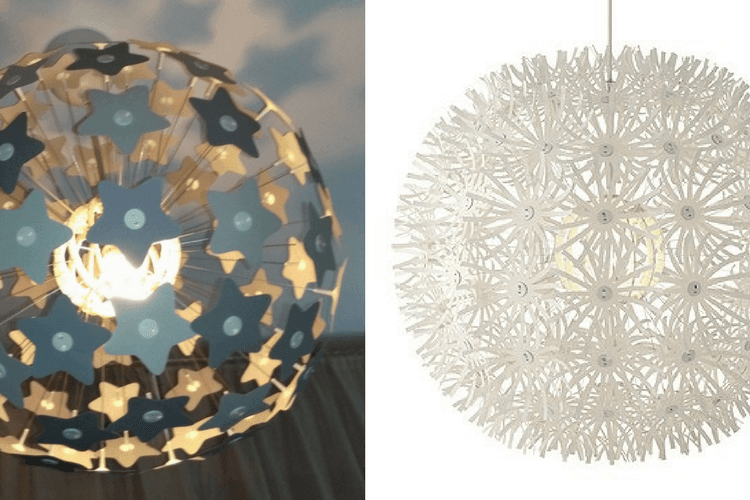 From Dandelion To Starros The Star Lamp Ikea Hackers