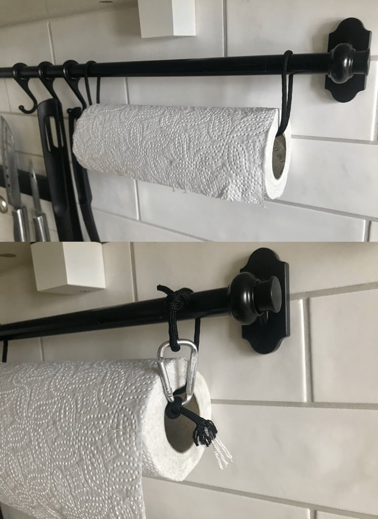 Ideas for kitchen paper towel holder - Decoration on kitchen tool hangers, kitchen knife hangers, kitchen dish towels, kitchen cup hangers, rolling pin hangers, mirror hangers, kitchen paper towels, tablecloth hangers, kitchen wall hangers, do not disturb door hangers, bag hangers,