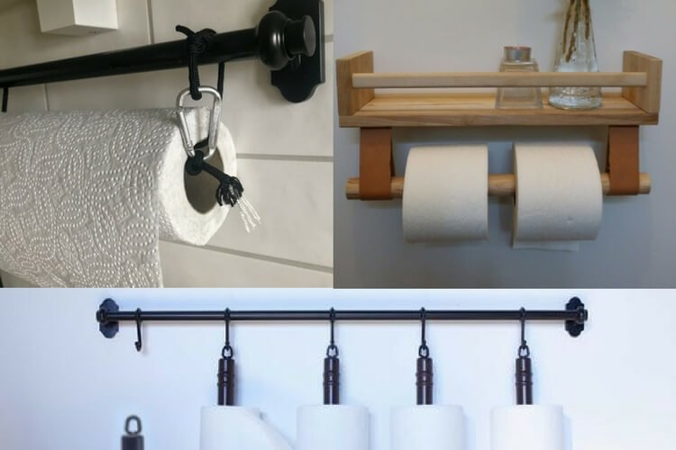 Ideas For Kitchen Paper Towel Holder Ikea Hackers