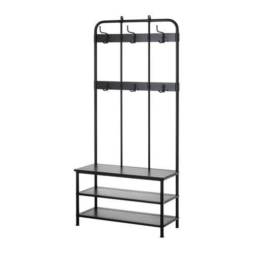2018 IKEA Catalogue - Pinnig Coat rack with shoe storage