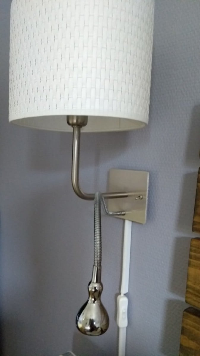 Small Wall Reading Lights : Bedside wall light and spot reading lamp in one - IKEA Hackers - IKEA Hackers