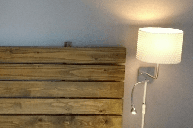 Bedside Wall Light And Spot Reading Lamp In One