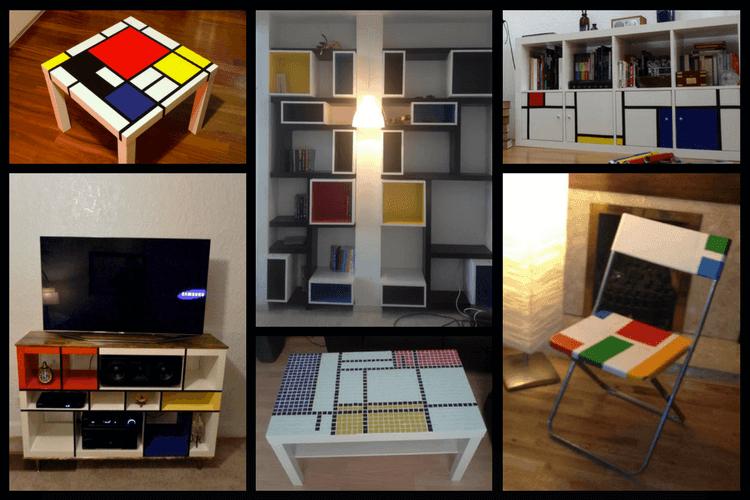 6 Hacks That Show How Well Mondrian Goes With Ikea Ikea