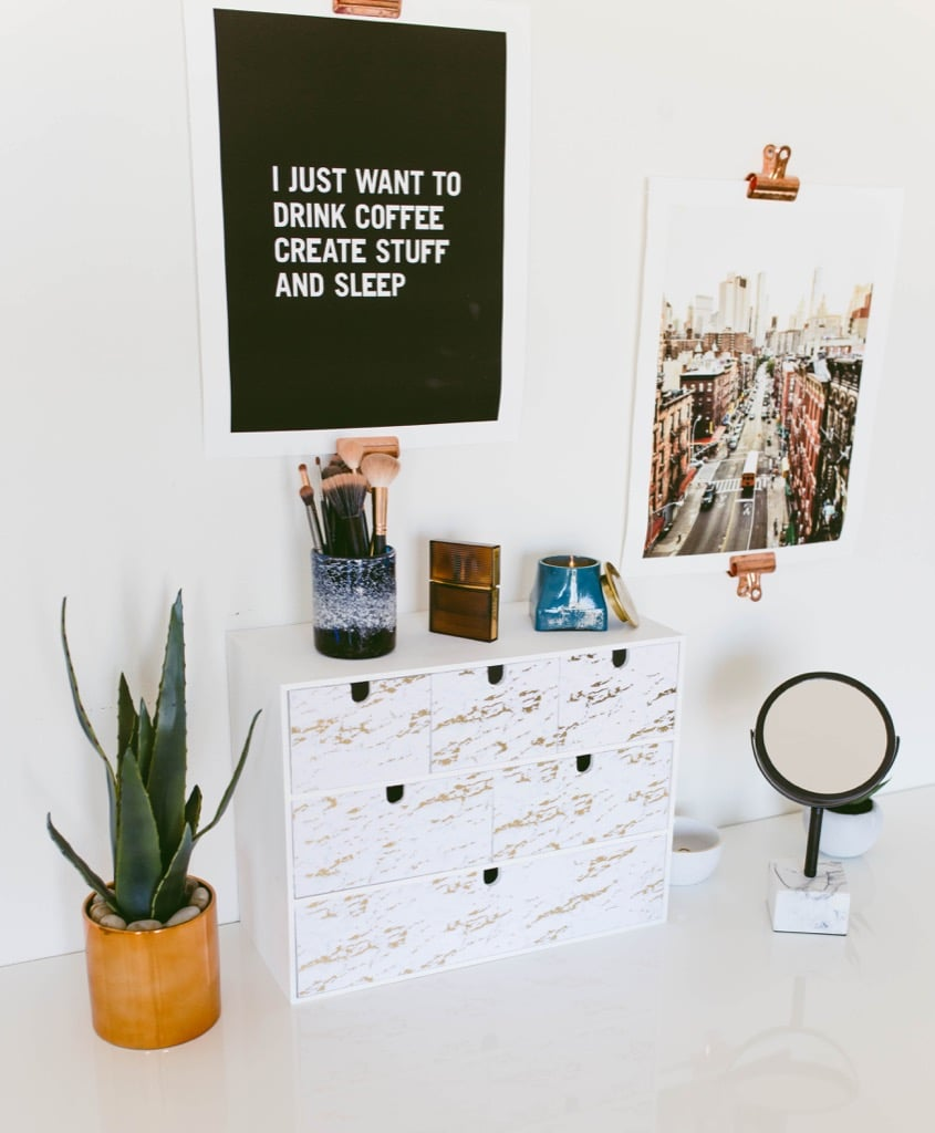 IKEA MOPPE makeup box tutorial