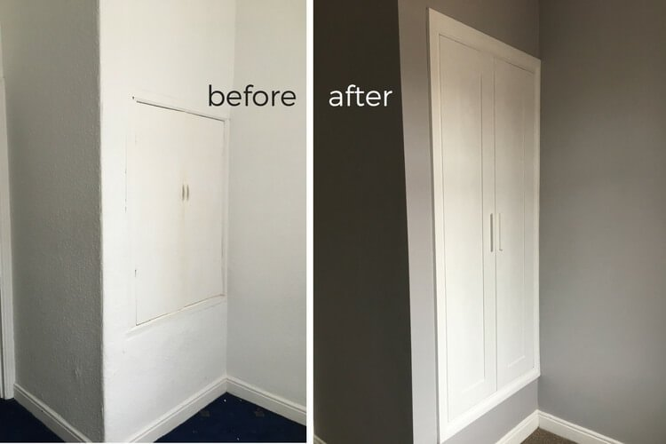 Out With The Old In With A New Built In Closet Ikea Hackers