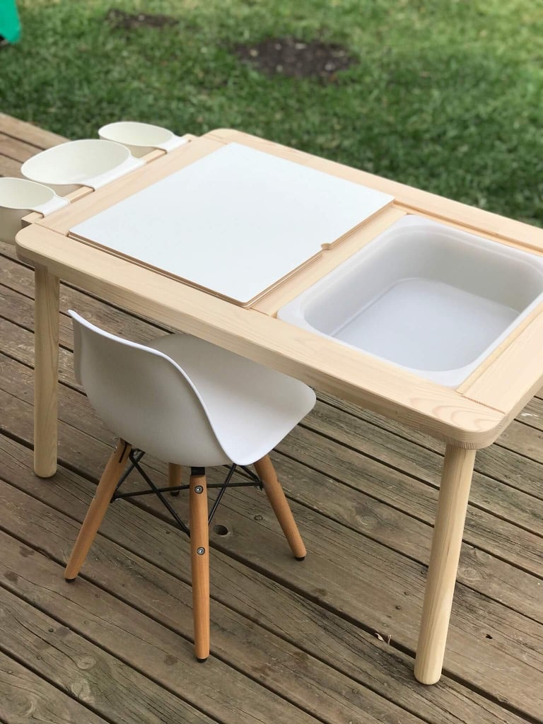 Upgrade the FLISAT children's table with a simple mod