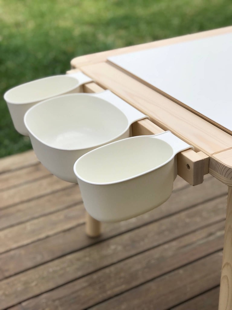 Upgrade the IKEA FLISAT children's table with a simple mod