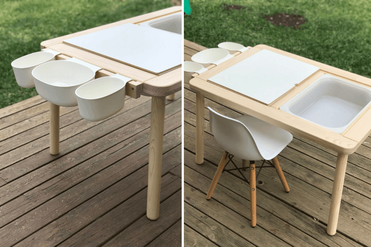Upgrade The Flisat Children S Table With A Simple Mod Ikea Hackers Ikea Hackers