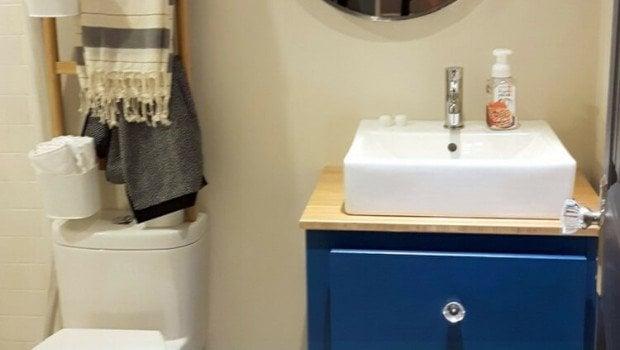 Perfect Bathroom customized hemnes vanity