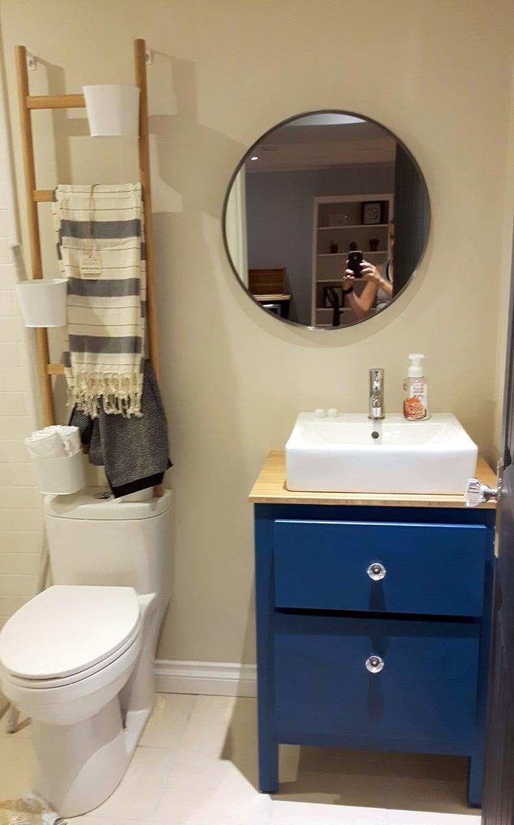 Small bathroom vanities by ikea 2